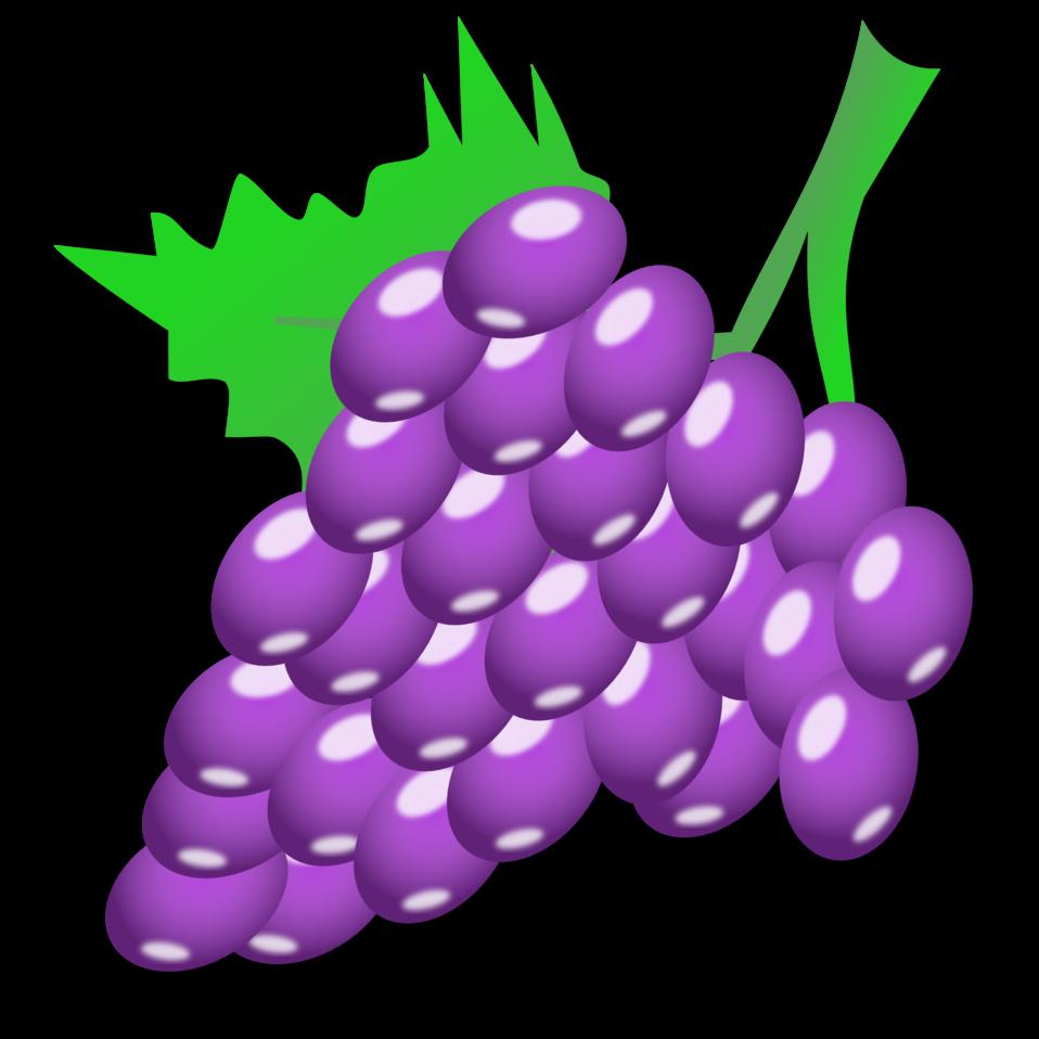 Grapes clipart date fruit. Public domain clip art