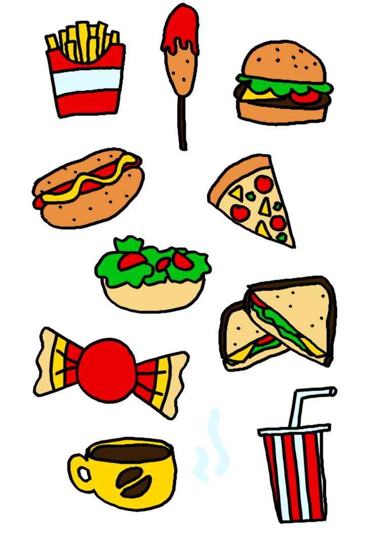 Food by elliejoy on. Foods clipart group