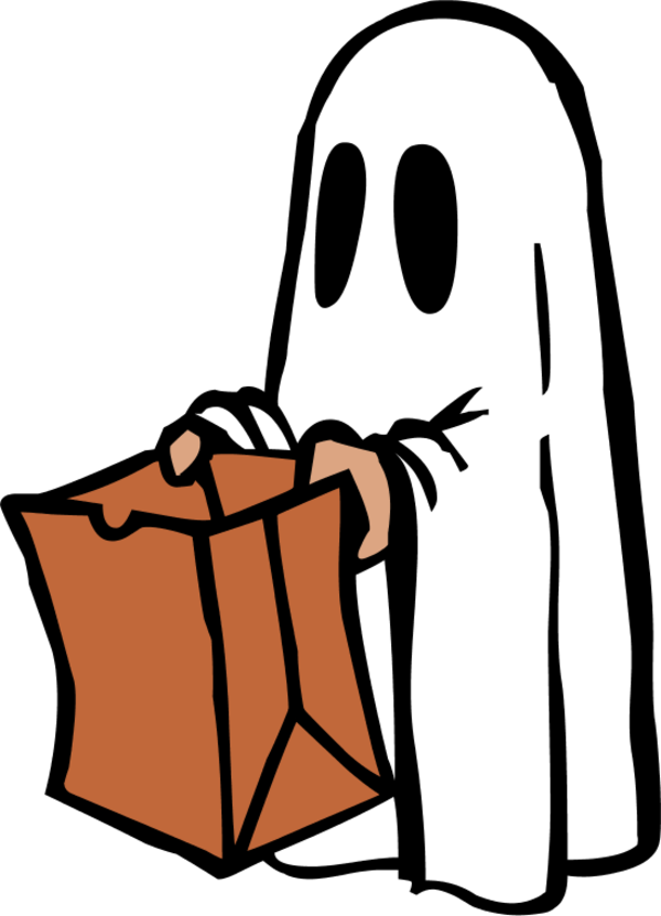 Healthier options for trick. Healthy clipart halloween