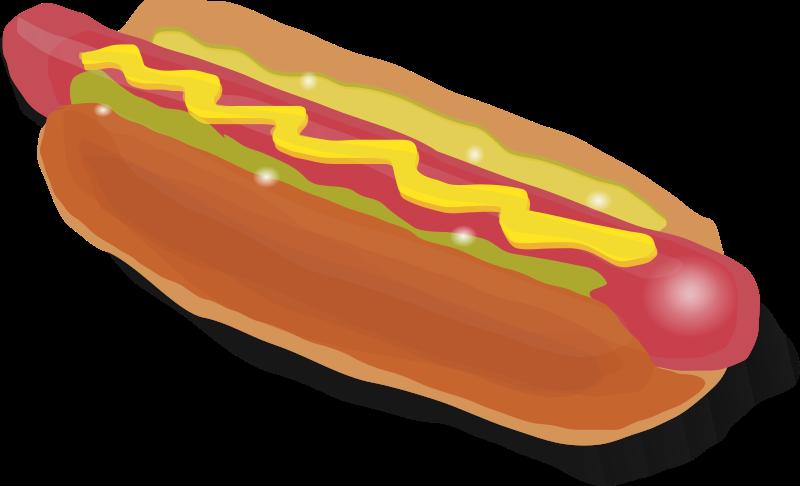 hotdog clipart chili dog