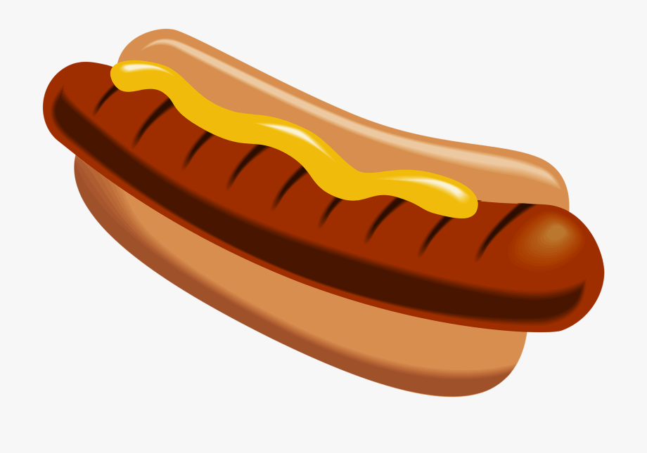Sausage brat hamburger hot. Hotdog clipart chili dog