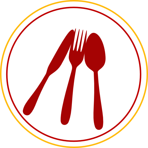 Food utensils icon clip. Name clipart kitchen tool