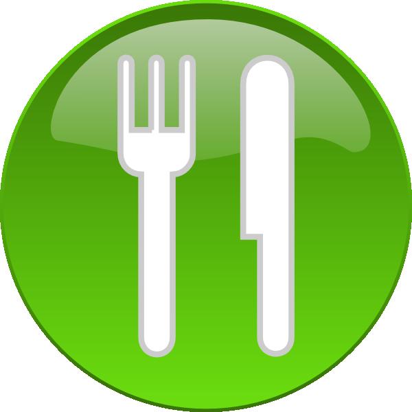 Food dining button clip. Clipart restaurant dinner