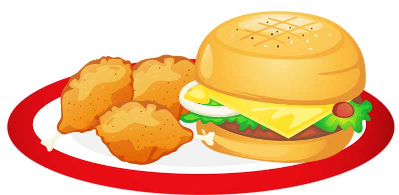 Fast hamburger cheeseburger clip. Clipart food junk food