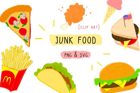 Clipart food junk food. Fast