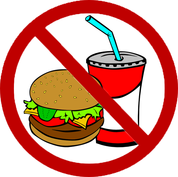 No panda free images. Pizza clipart junk food