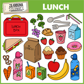 Lunch food . Luncheon clipart clip art