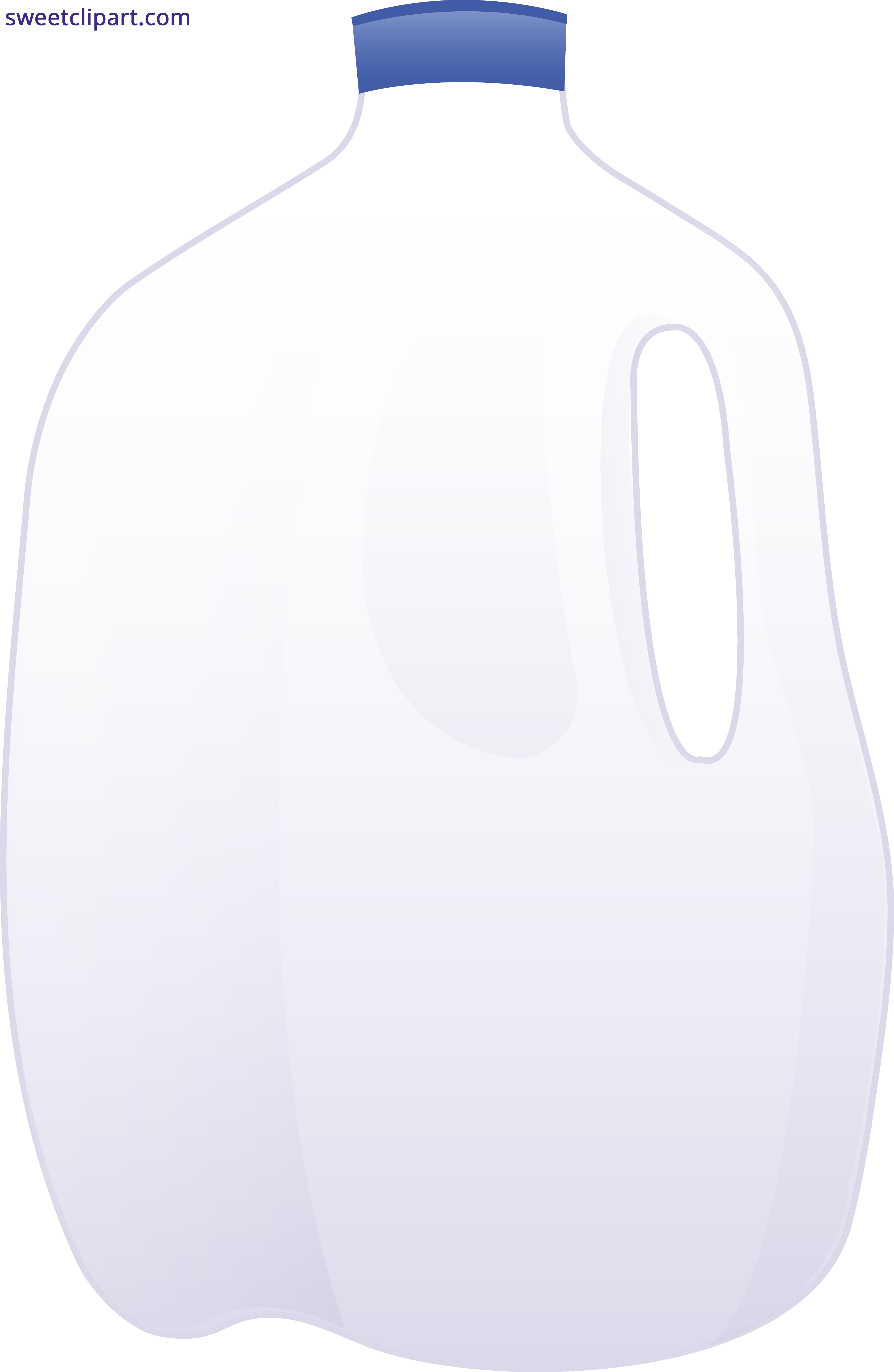 Gallon of sweet clip. Milk clipart logo