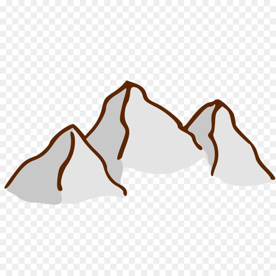 Mountain cartoon graphics . Mountains clipart food