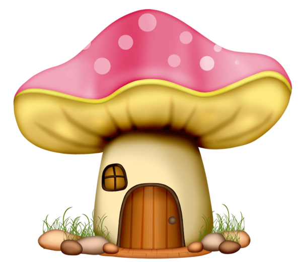 Ladybug clipart mushroom. Champignons png tubes glass