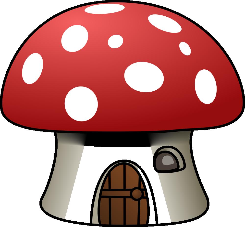 Lake clipart cottage. Onlinelabels clip art mushroom
