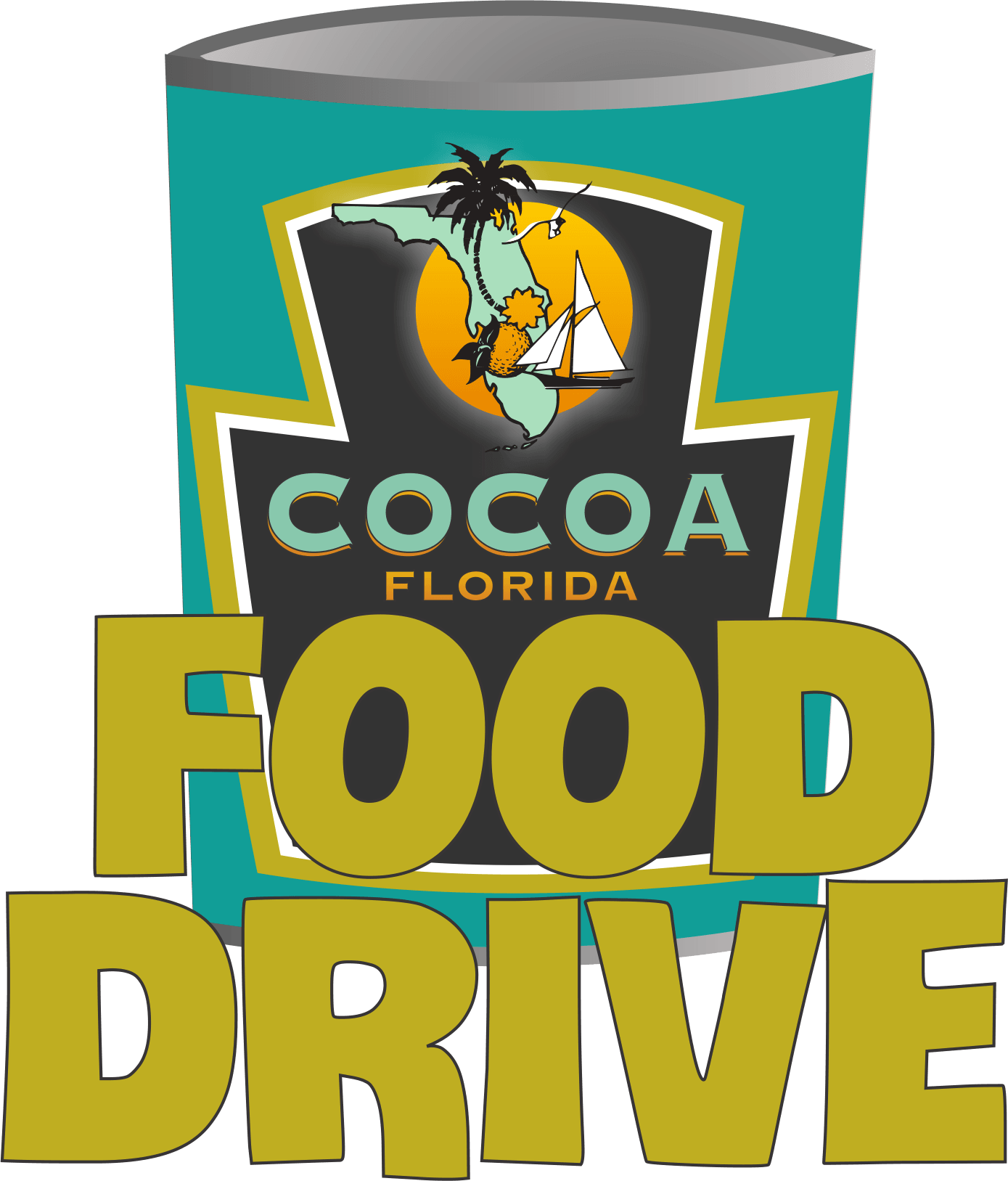 Cocoa fl official website. Donation clipart canned food drive