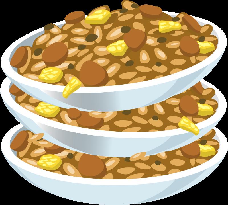 Fried rice medium image. Clipart food nuts