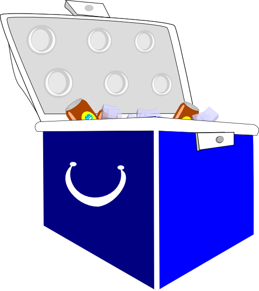 People clipart picnic. Free cooler clip art