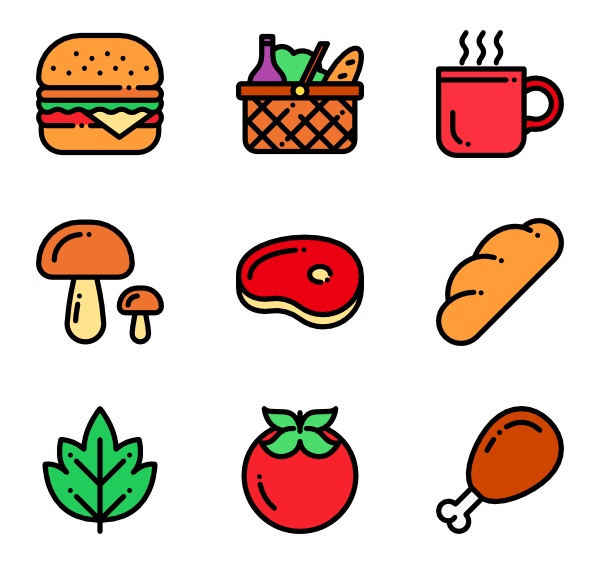 natural icon packs. Clipart food picnic