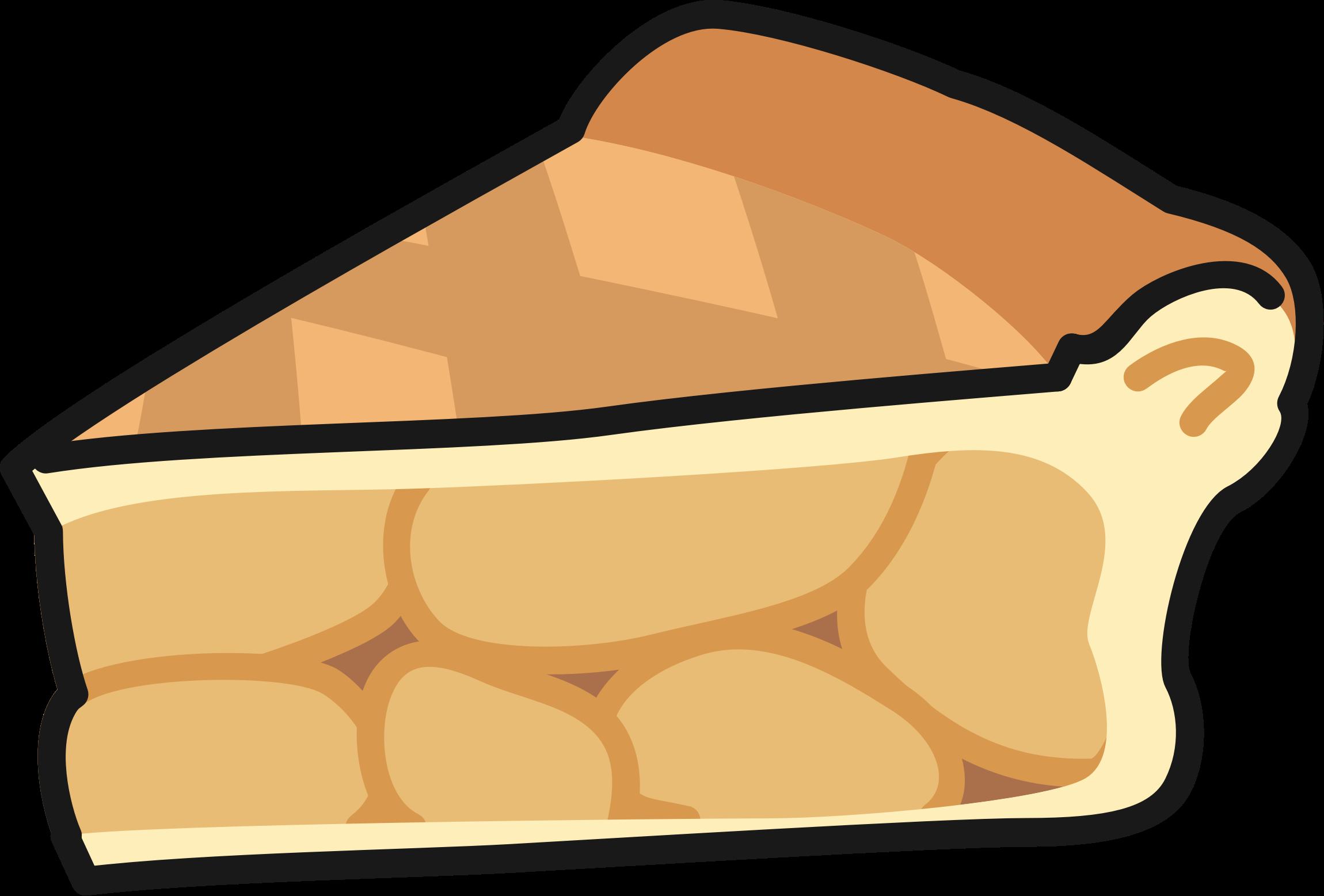 Pie clipart apple pie. Slice of big image