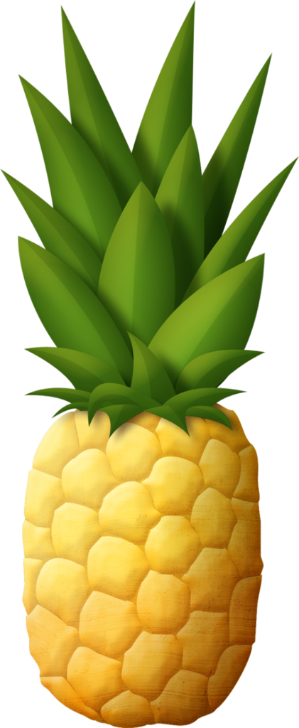 pineapple clipart food #137863628