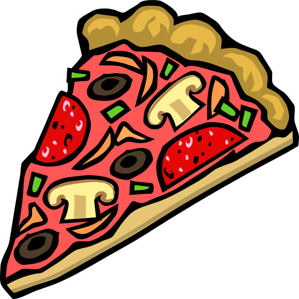 Food clipart pizza. Clip art at clker