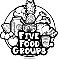 Free groups click to. Clipart food preschool