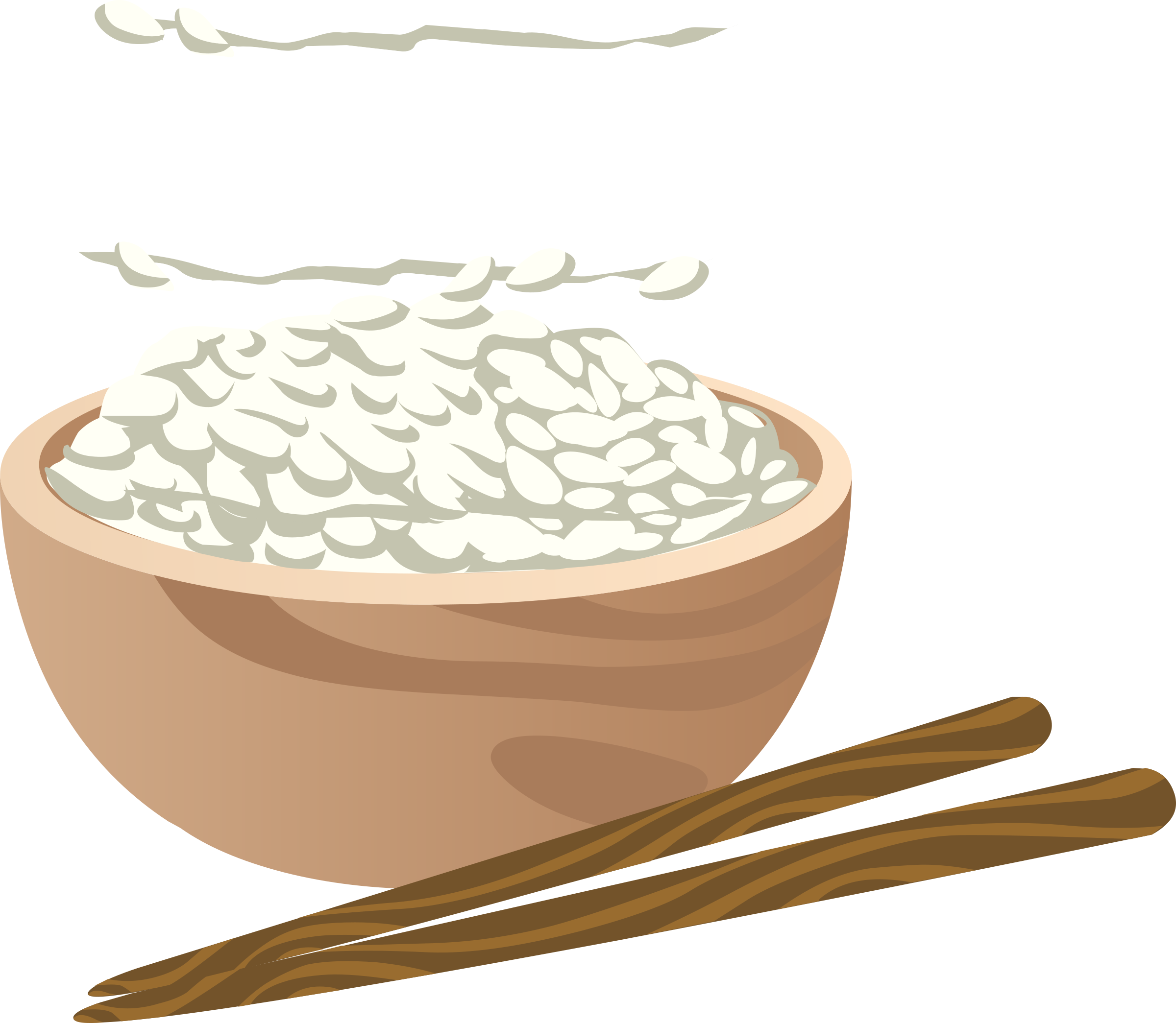 Rice clipart rice leaf. Food proper big image