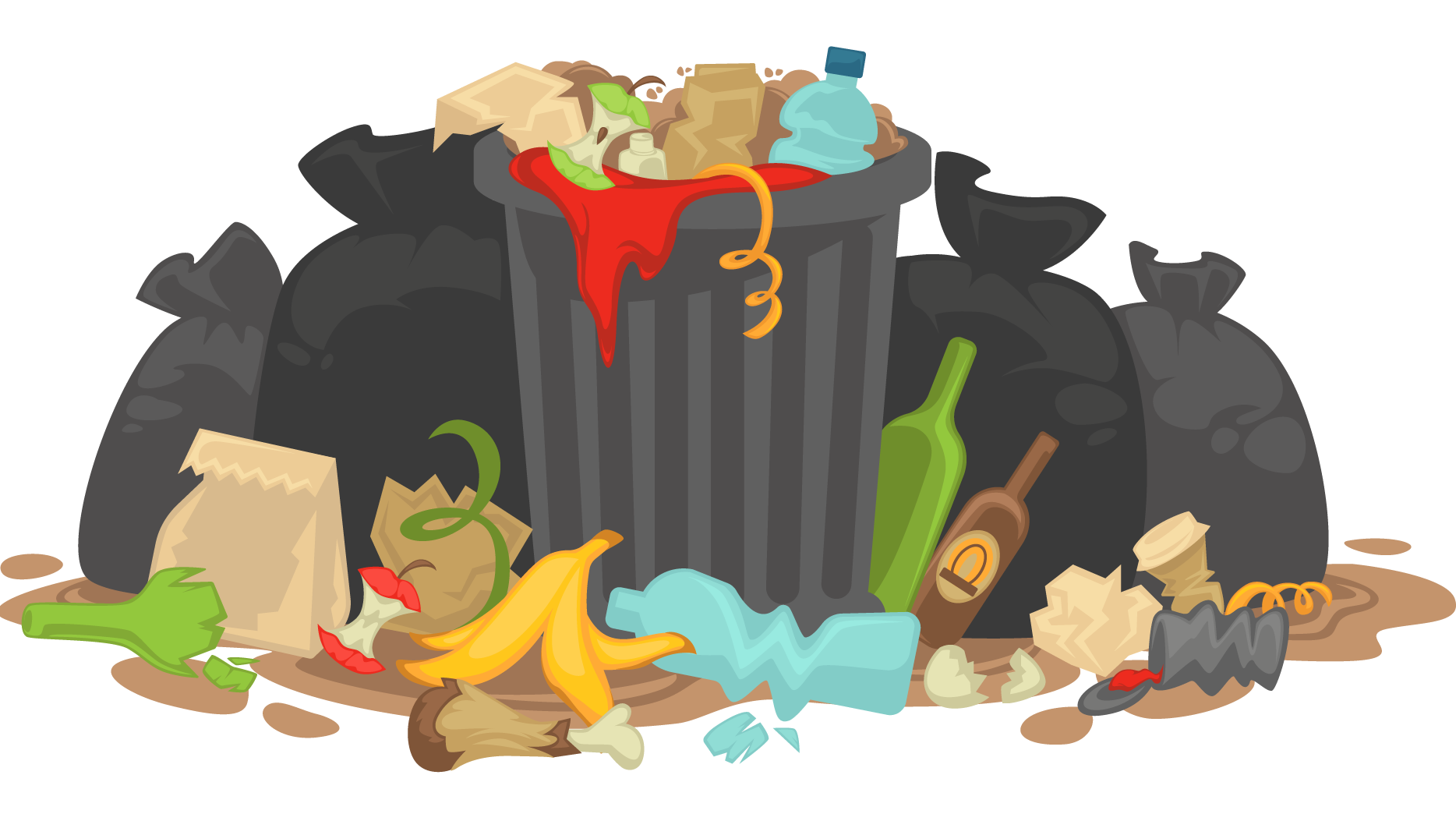 Clipart food rubbish.  collection of waste