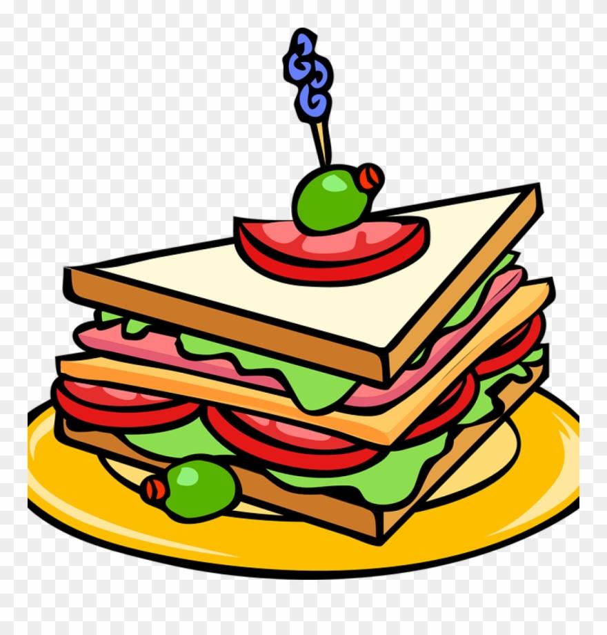 Clipart food sandwich. Party