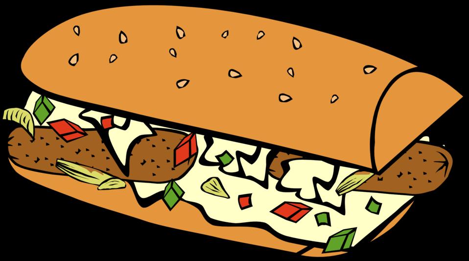Public domain clip art. Clipart food sandwich