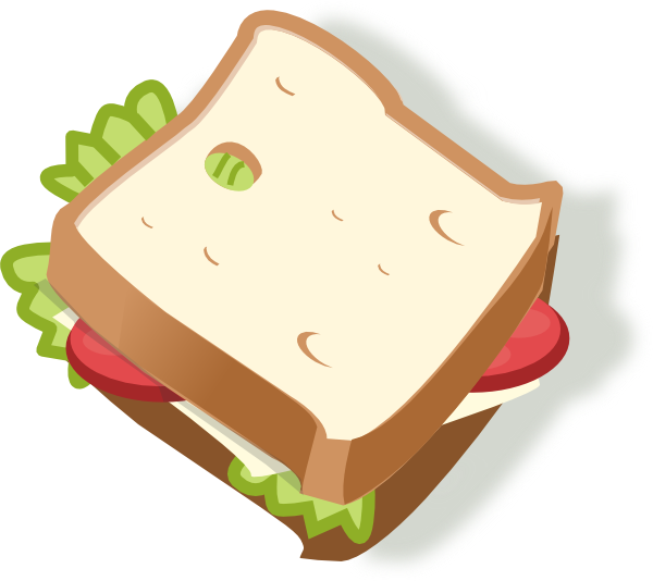 Clipart food sandwich. Vegetarian clip art at
