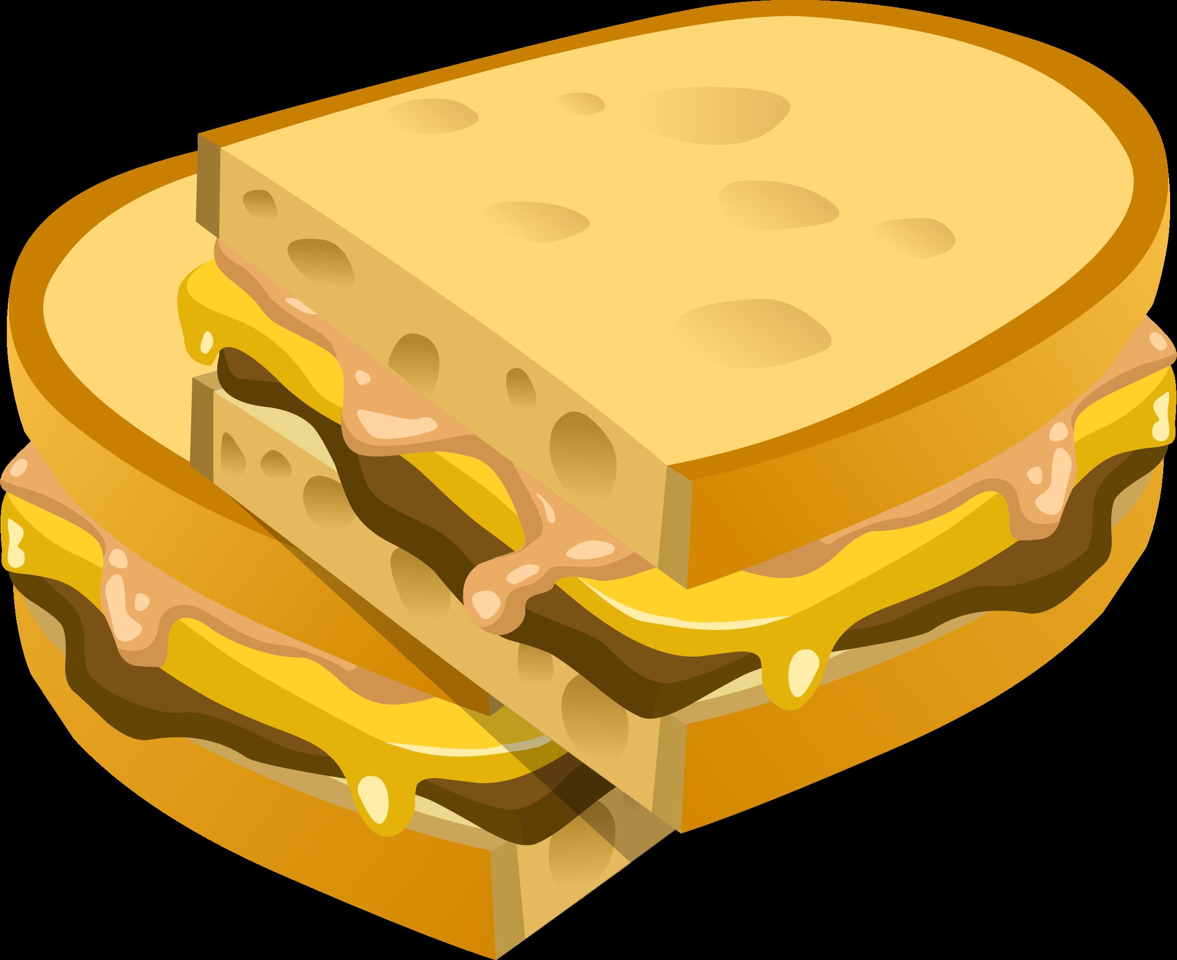 Obvious panini big image. Clipart food sandwich