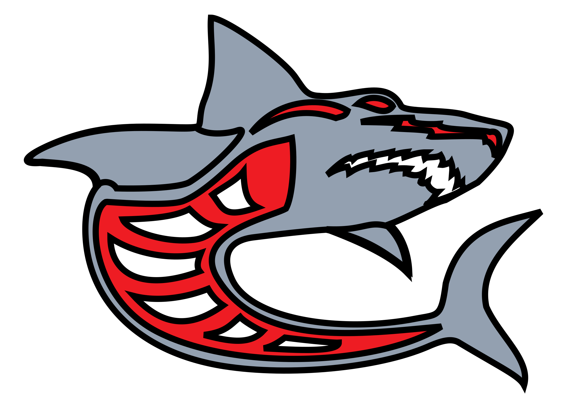Grey red by ashed. Mouth clipart great white shark