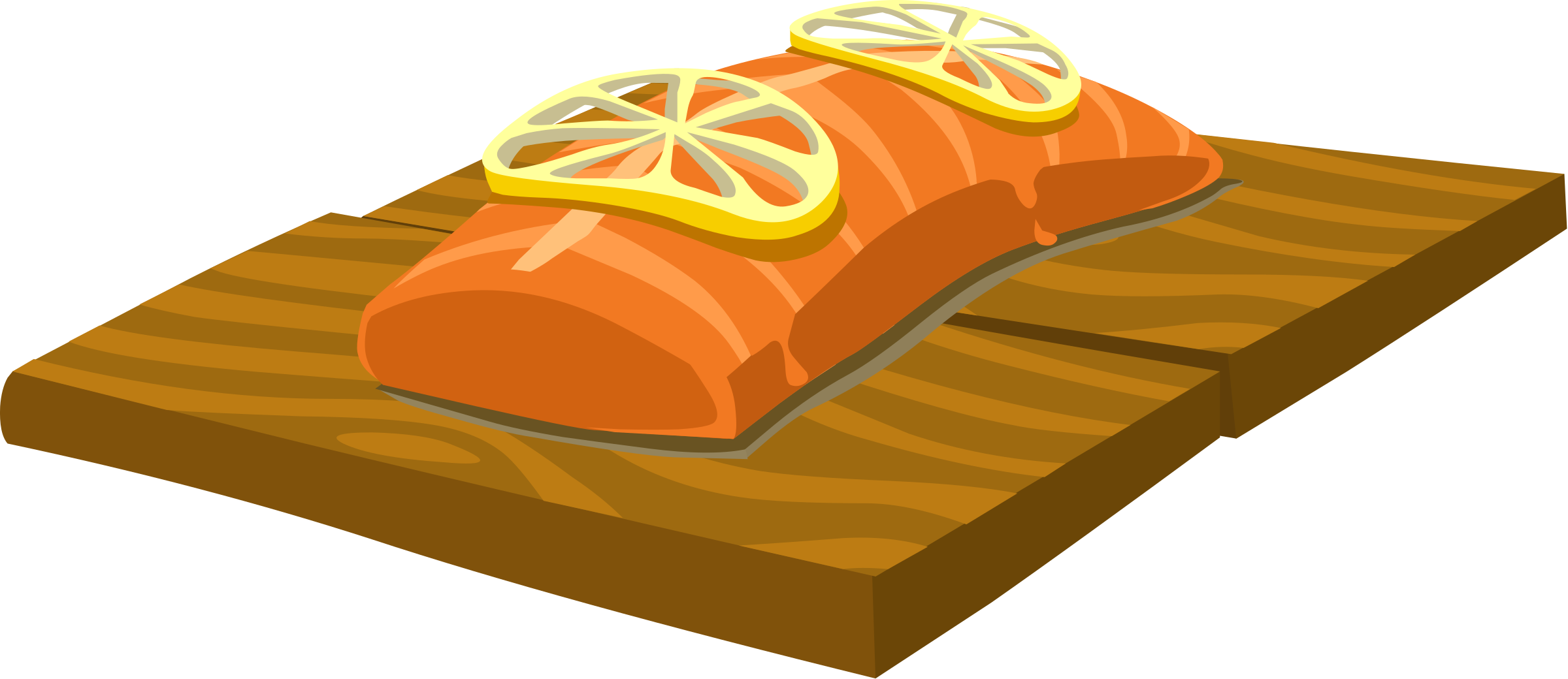 collection of smoked. Tuna clipart cooked fish