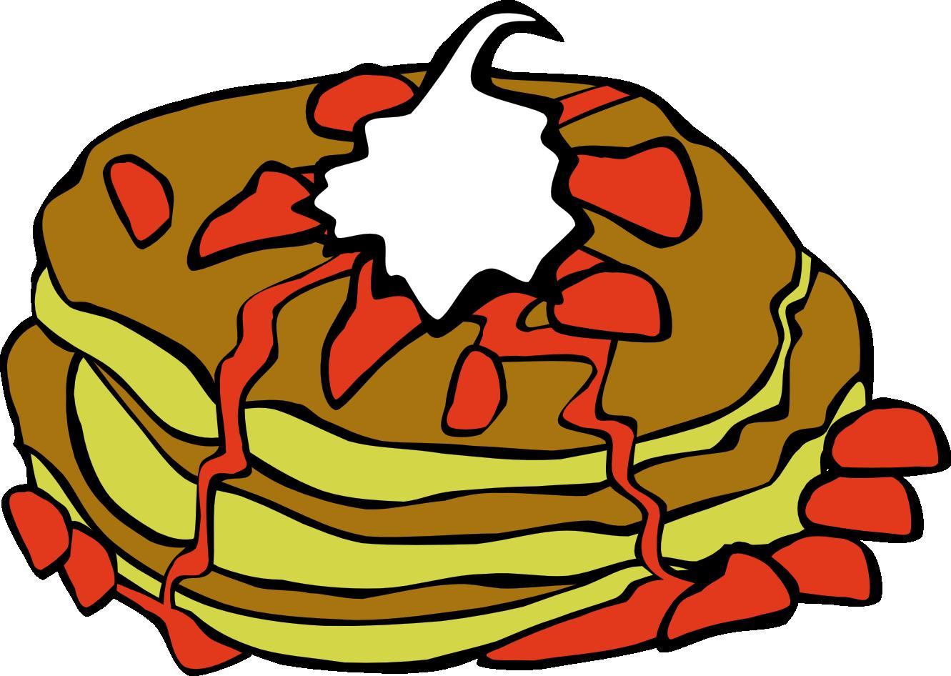 Free breakfast food cliparts. Foods clipart cartoon