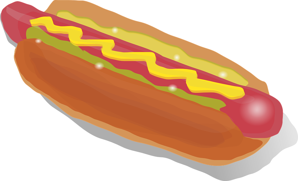 February is national snack. Cookout clipart footlong