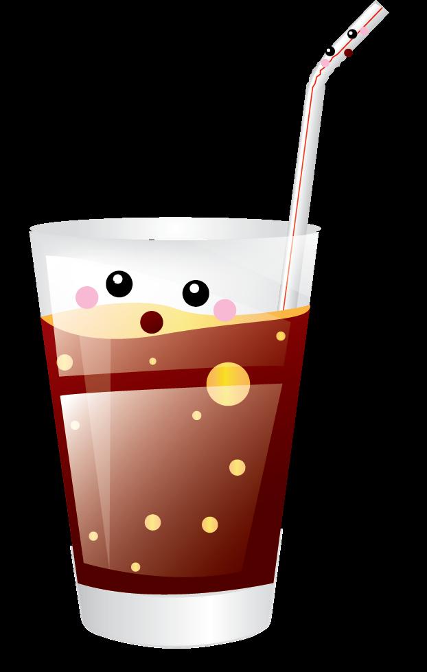 Soda free to use. Drinks clipart kawaii