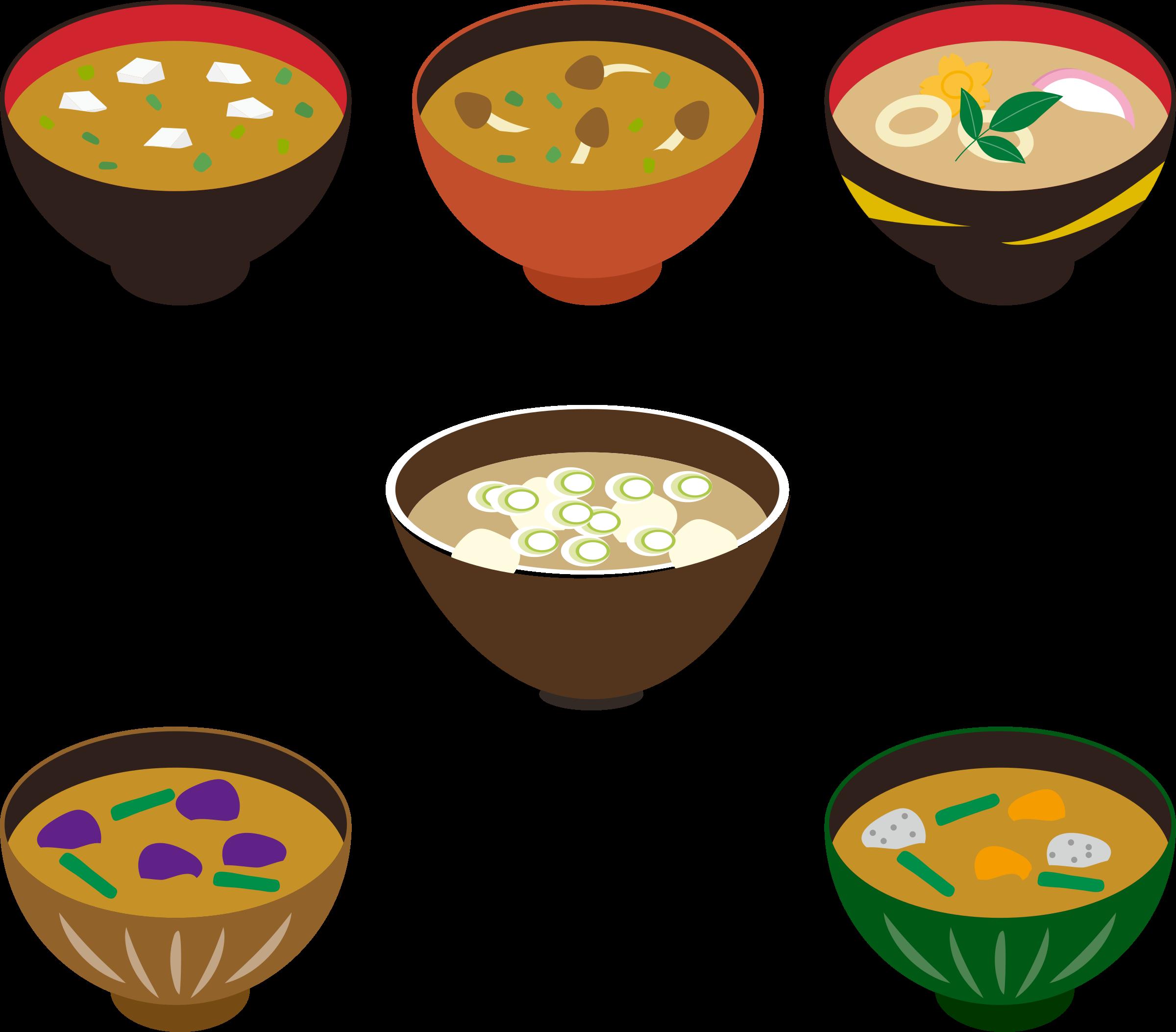Misoshiru miso big image. Soup clipart clip art