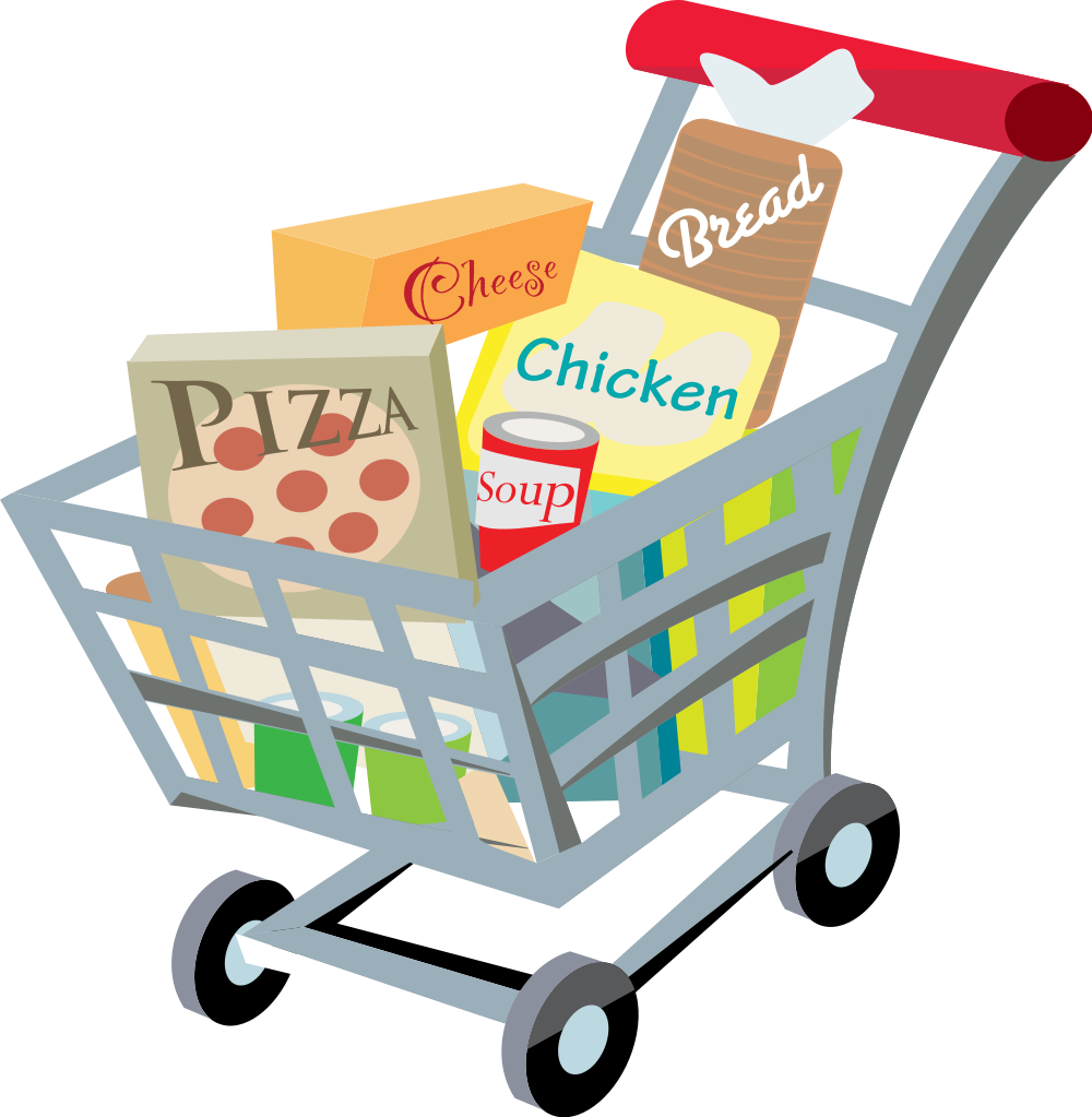 Grocery clipart svg, Grocery svg Transparent FREE for ... (1000 x 1023 Pixel)