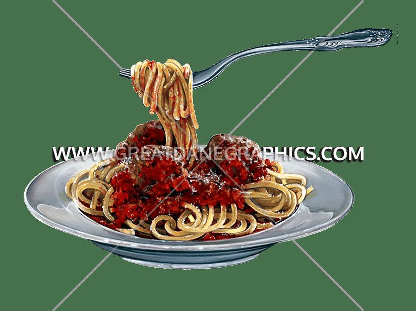 Food clipart spaghetti. Production ready artwork for