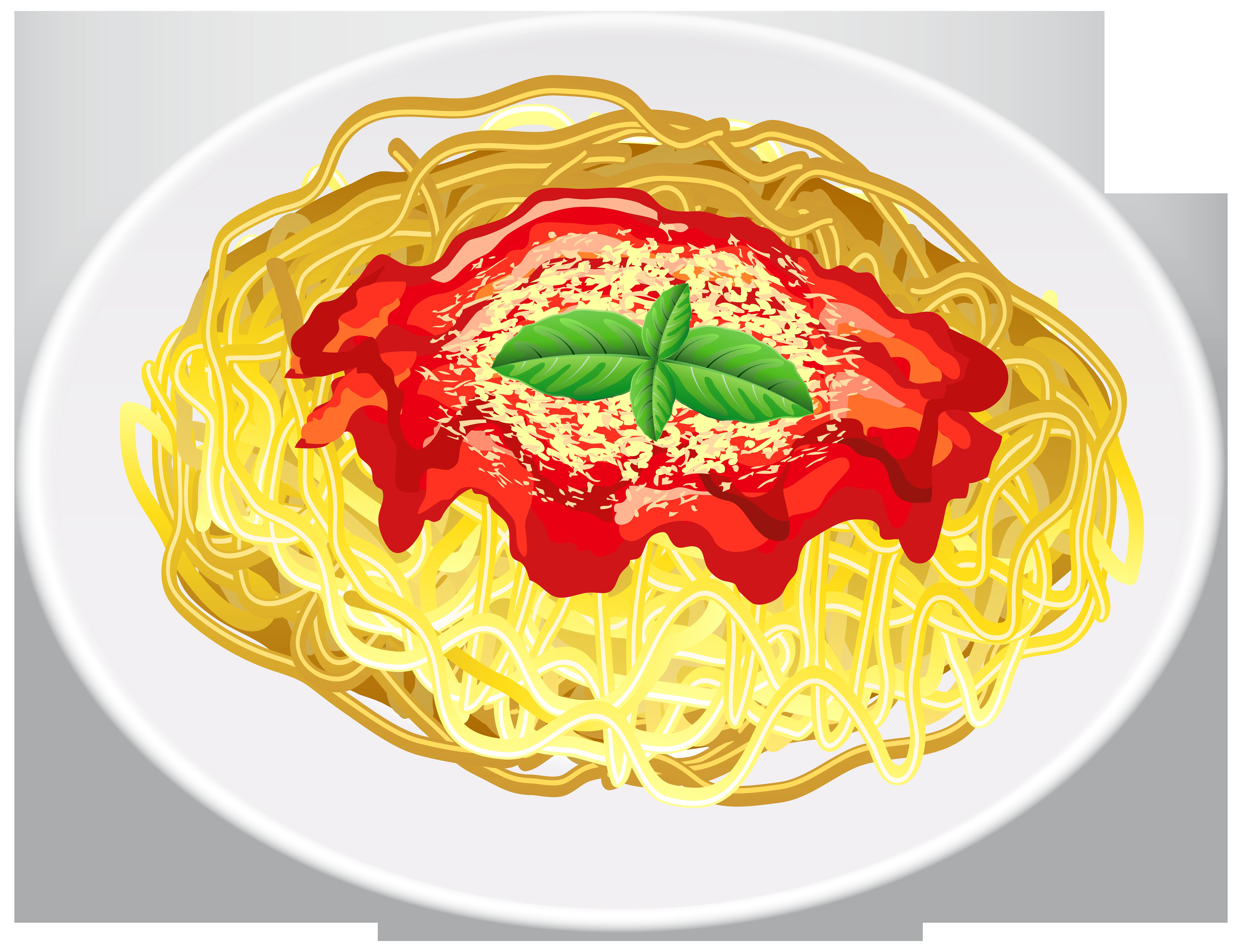Pasta transparent png clip. Food clipart spaghetti
