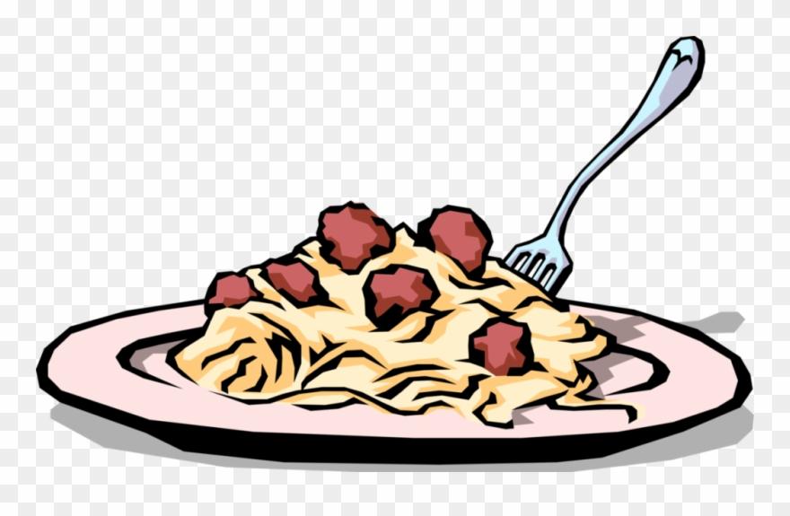 Foods spaghetti dinner clip. Pasta clipart entree