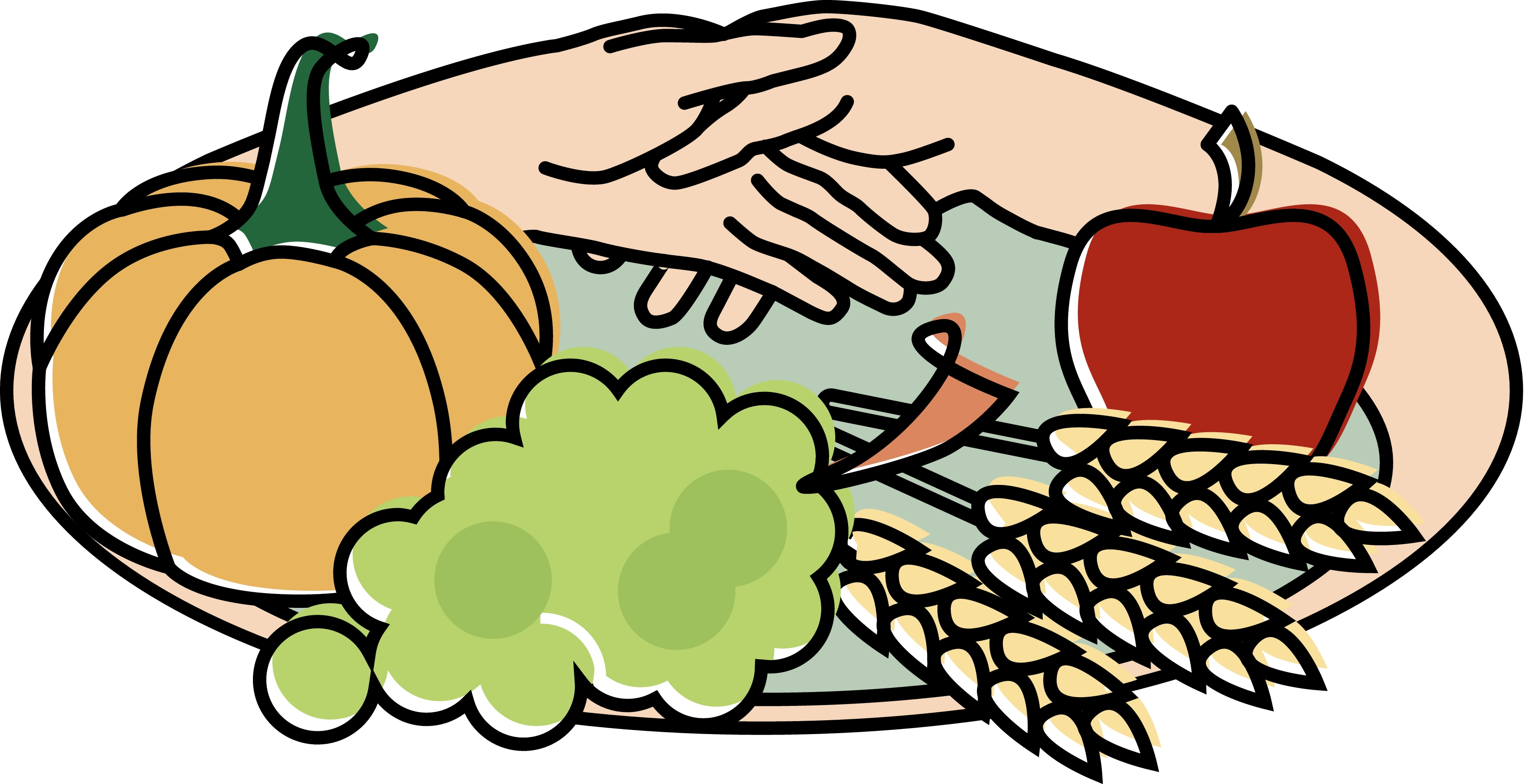 Diner clipart lunch special. Food plate with spring