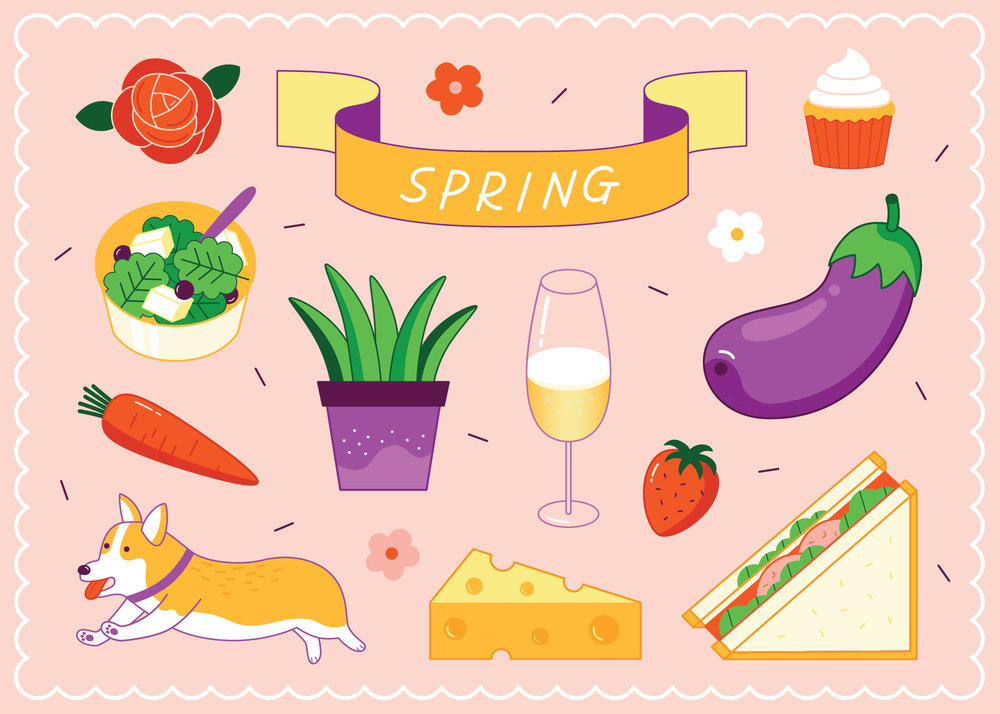 Clipart lunch spring. Clip art food arts