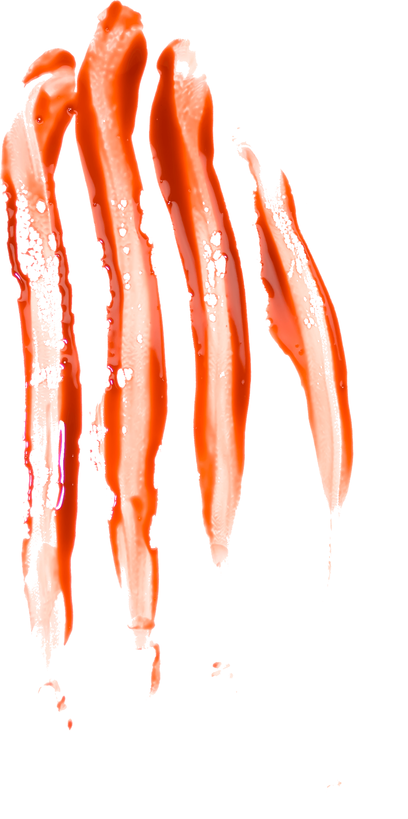 Stain transparent stickpng finger. Dripping blood png