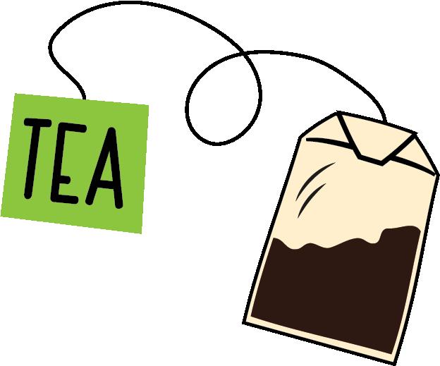 Planner clipart homework diary. Tea bag icon food