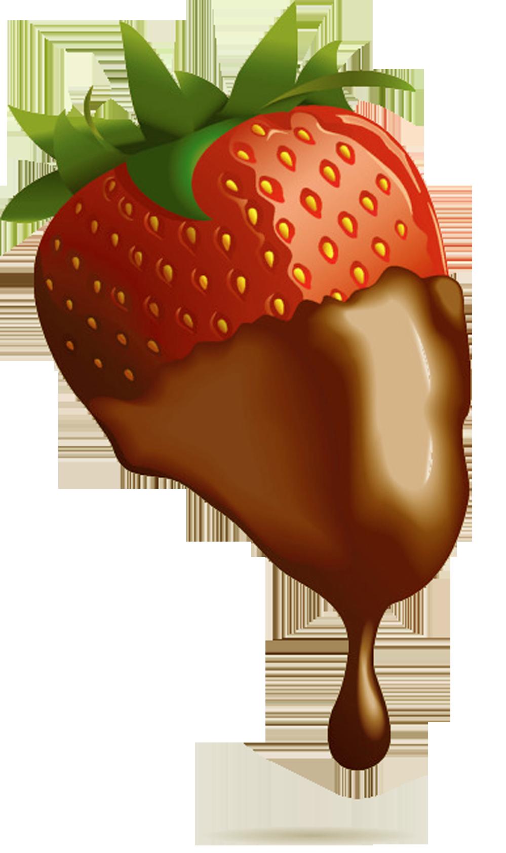 Strawberries clipart splash. Strawberry chocolate covered fruit