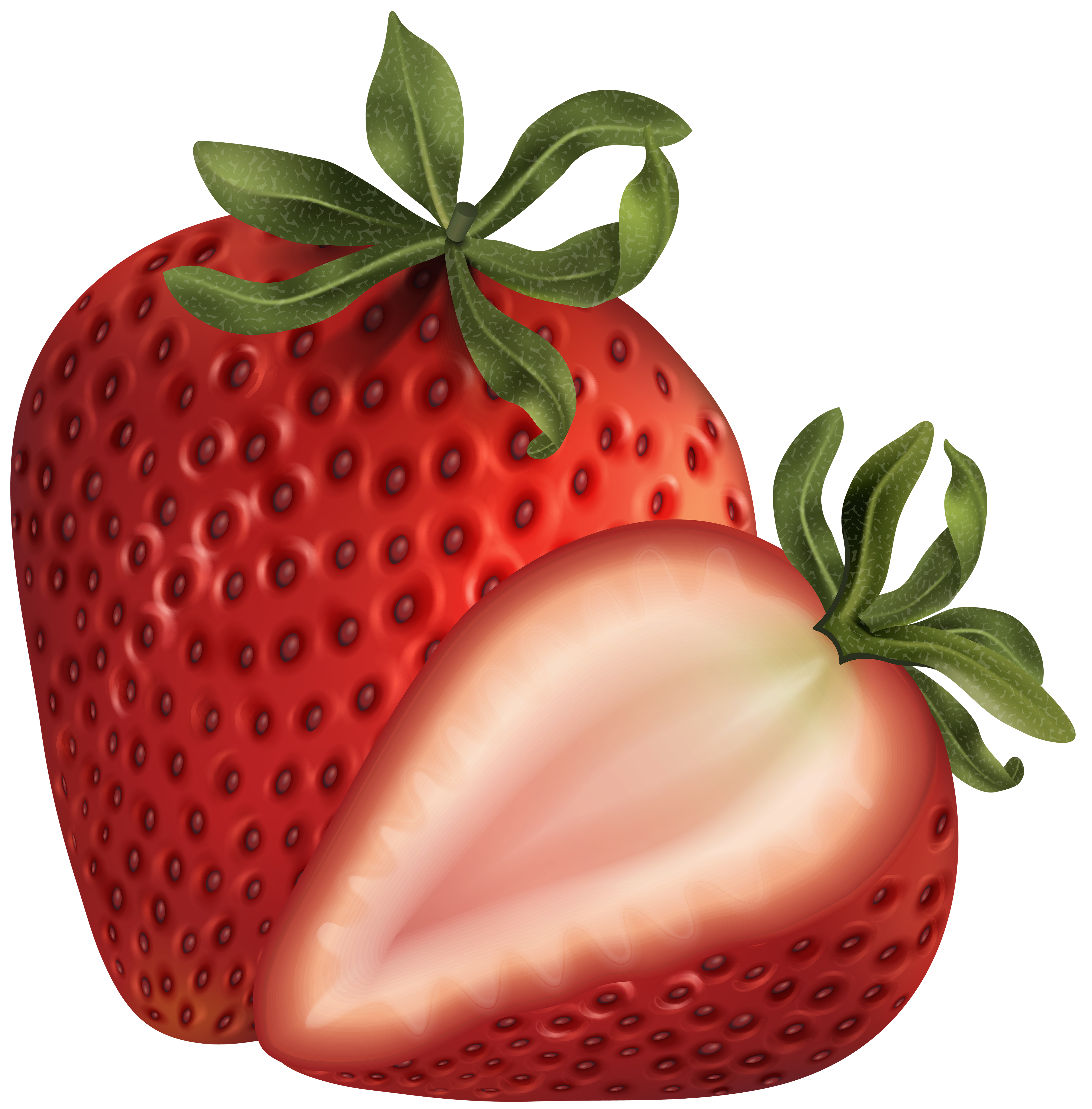 Strawberry png clip art. Strawberries clipart banner
