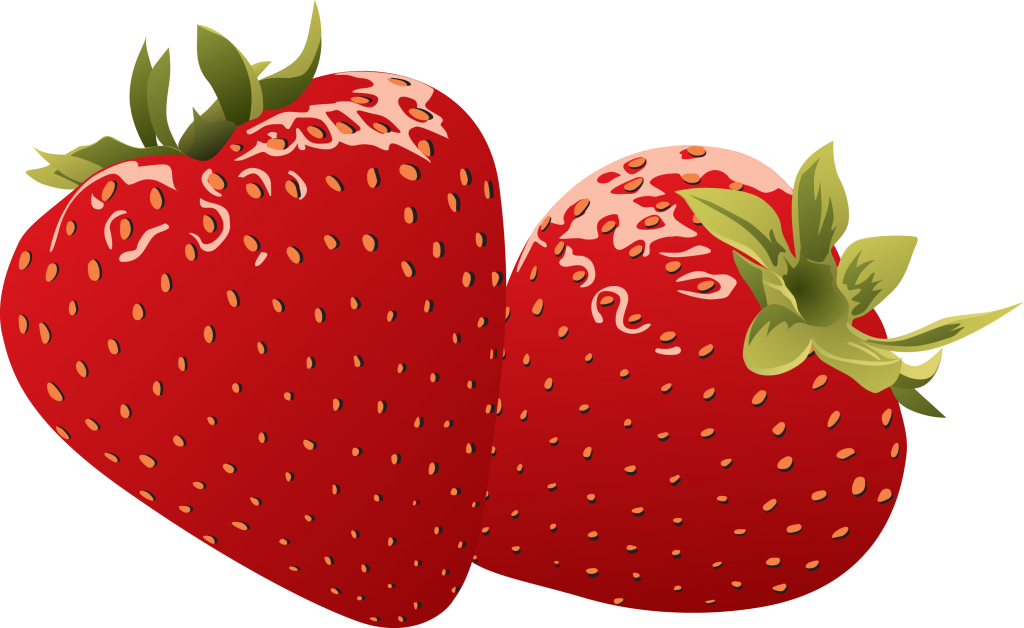 Pin by luke on. Strawberries clipart draw