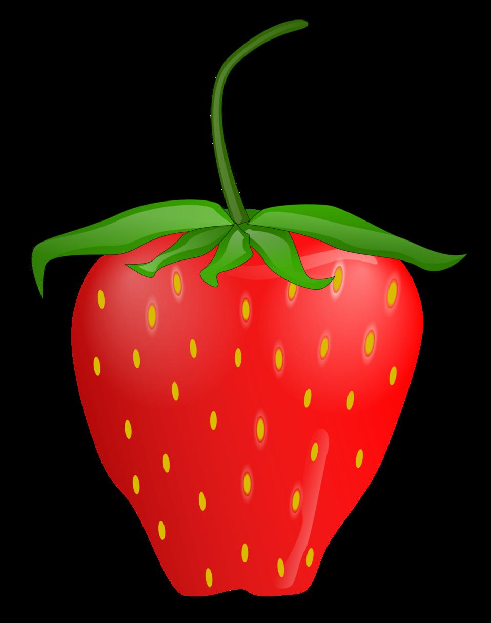 Public domain clip art. Strawberries clipart strawbery