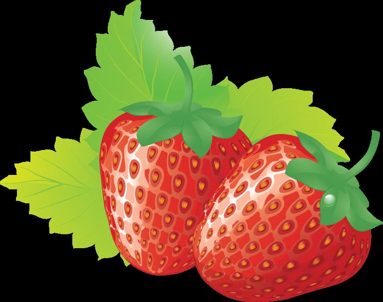 Strawberries clipart strawbery. Strawberry clip art transprent