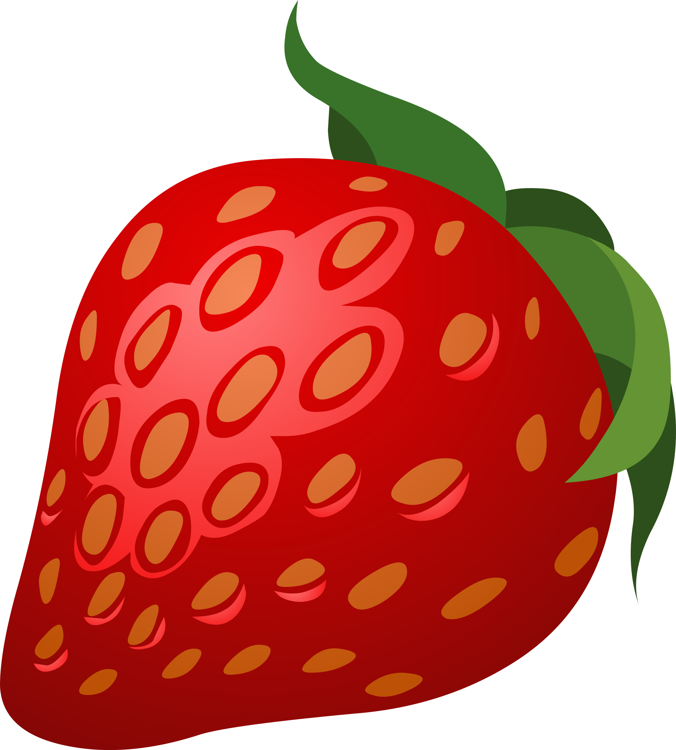 Strawberries clipart upo. Food strawberry big image