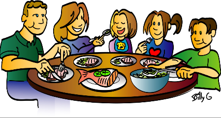 Clipart food time. Free dinner cliparts download